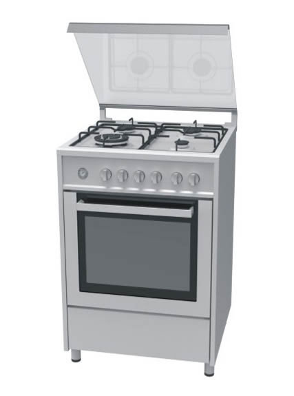 Gas Stove with Built-in Oven